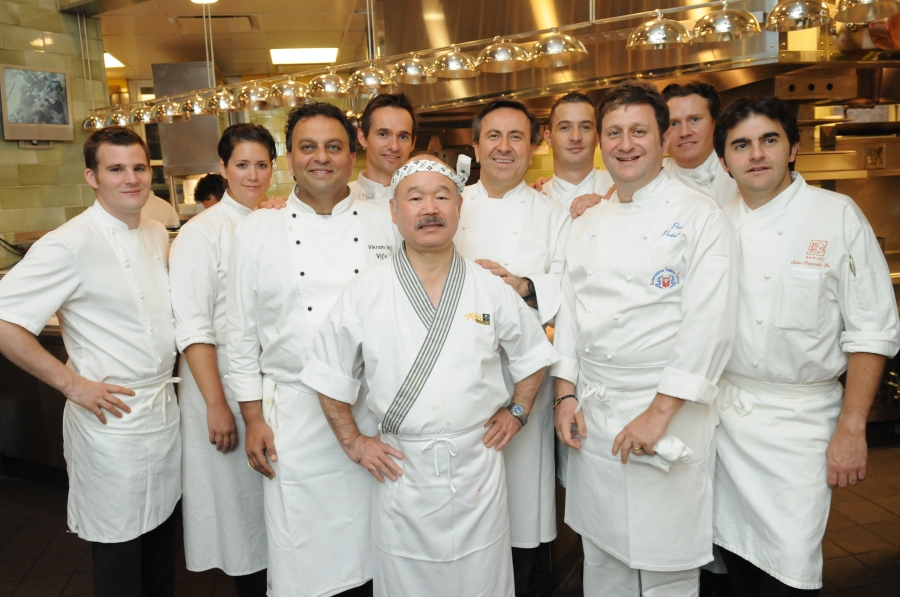 Vancouver Chefs with Daniel Boulud in NYC