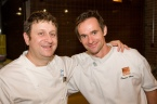 Pino & Thomas Haas at the Chefs For Life event