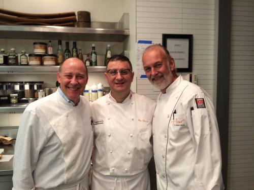 Chef Bradley and Chef Hubert