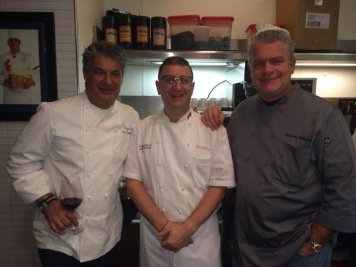 Chef Kim and Chef Luciano