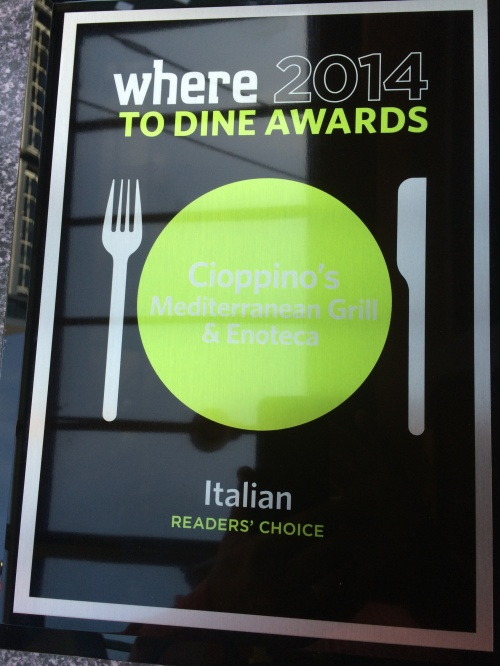 Best Italian Where Magazine Readers' Choice
